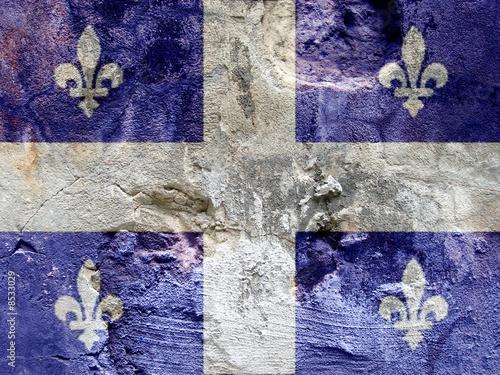 Rock flag of Quebec #8533029