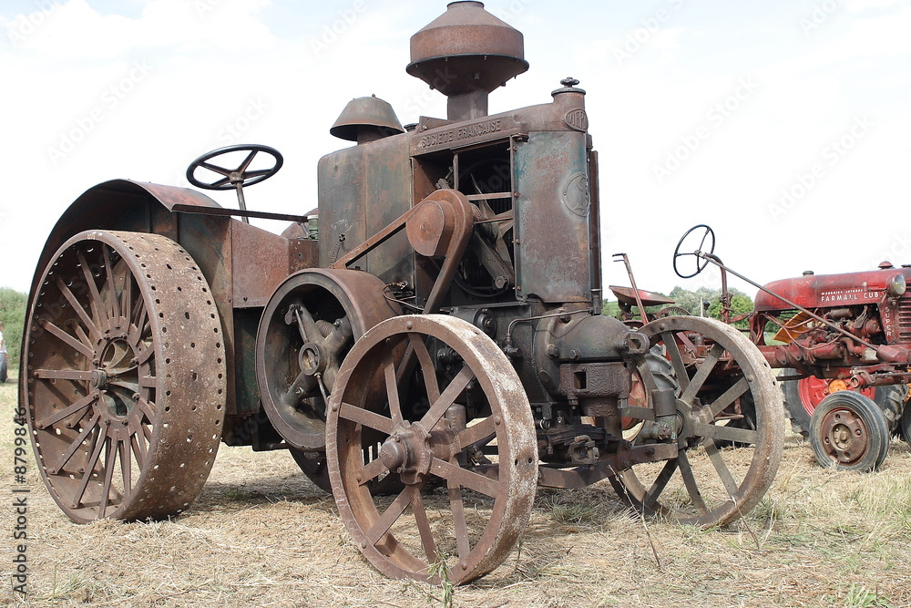 Tracteur d'autrefois