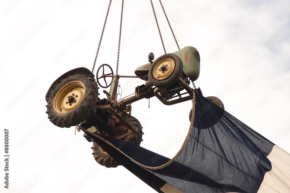 Tracteur volant