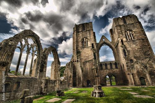 Elgin Cathedral Ruins Fototapeta