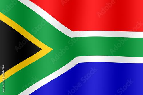 Drapeau Afrique du sud #8846244