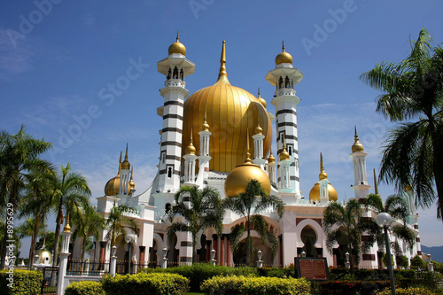 Photo View of the Ubudiah mosque, Malaysia