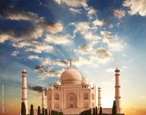 Fototapeta Taj Mahal palace