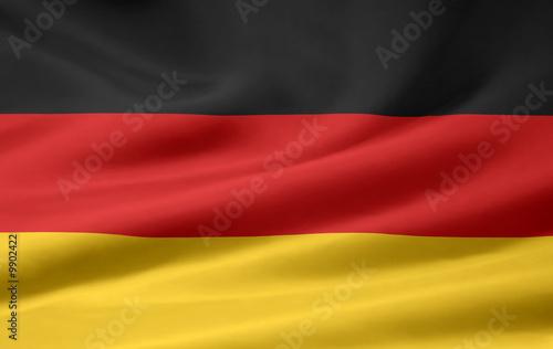 Wallpaper Mural Deutsche Flagge