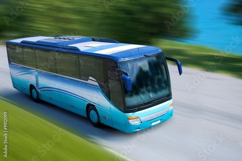 Wallpaper Mural travel bus