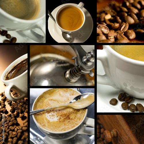 Coffee themed collage, coffee time, relax #10125066