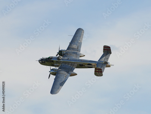 Fotografía World War II era American bomber plane