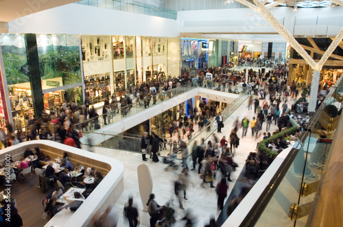 Fotografija Crowd in the mall