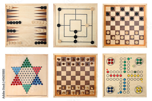 Fotografia, Obraz Board games