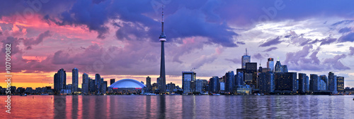 Canvas Print Toronto skyline