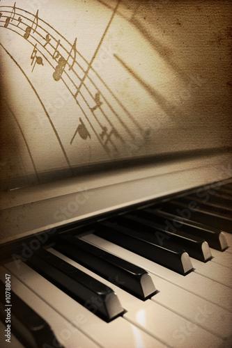 Fotografie, Obraz piano elegance