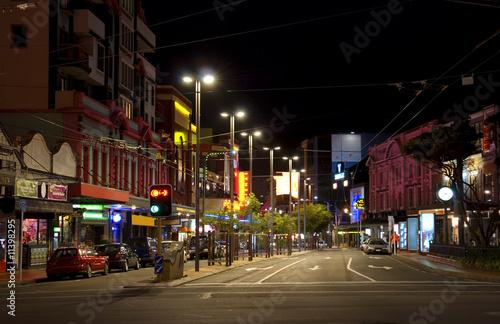 night Wellington