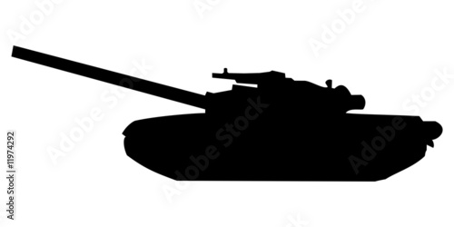 Fotografiet Tank