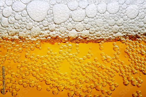 Obraz na płótnie Close up photo of beer