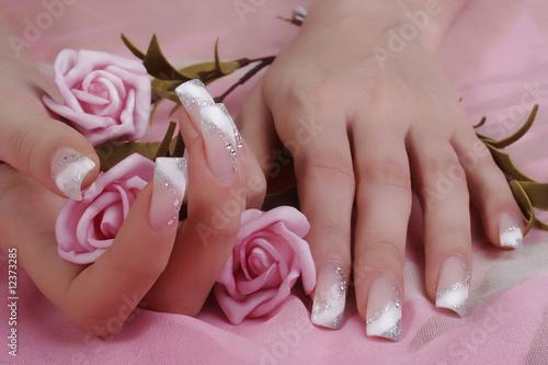 fingernails Fototapeta