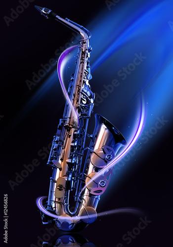 Photo saxophone