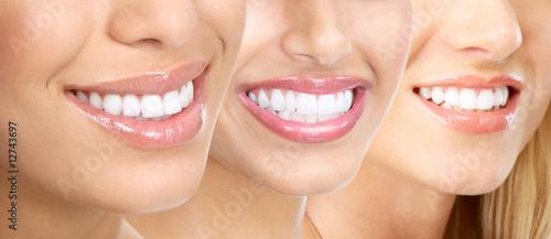 Woman teeth #12743697
