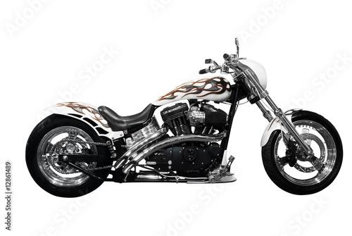 Fotografía motorcycle isolated