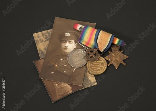 Photo Great War Veteran