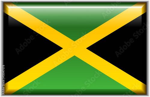 Valokuvatapetti Flag of Jamaica
