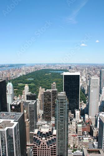 Fotografia New York City and Central park