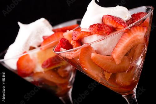 Photo strawberry shortcake