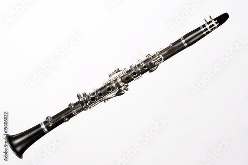 Valokuva Clarinet Complete Isolated On White