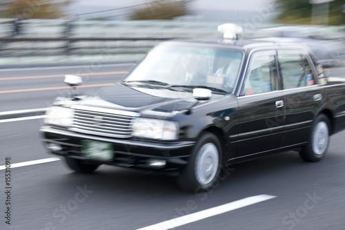 Canvas Print タクシー