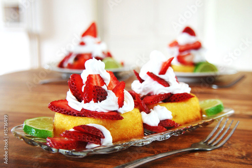 Fototapeta Strawberry Shortcake