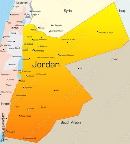Canvas Print Jordan