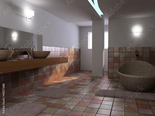 salle de bain Fototapeta