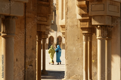 Going to mosque, Casablanca