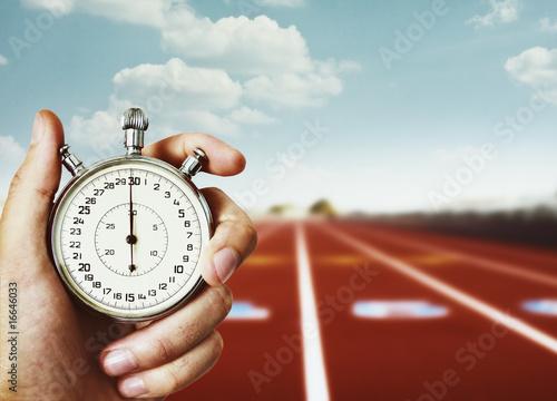 Leinwand Poster Alter Chronometer