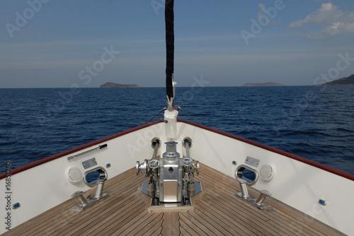 Fotografia boat deck