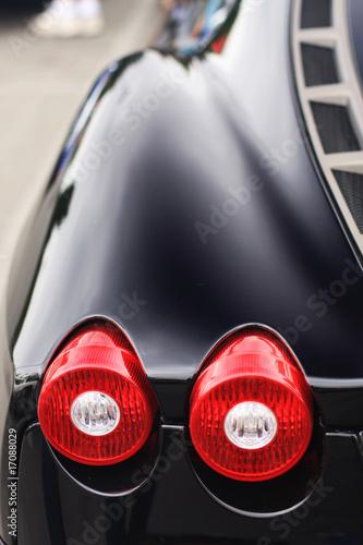 Photo sports car tail light