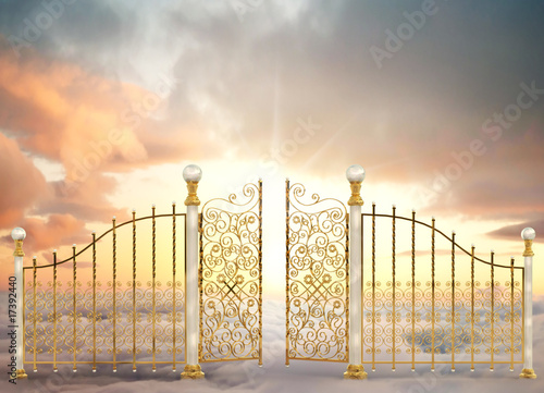 Fotomural Pearly Gates Landscape