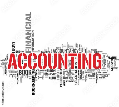 Accounting tag cloud #17853656