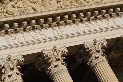 Fotomural palais de justice