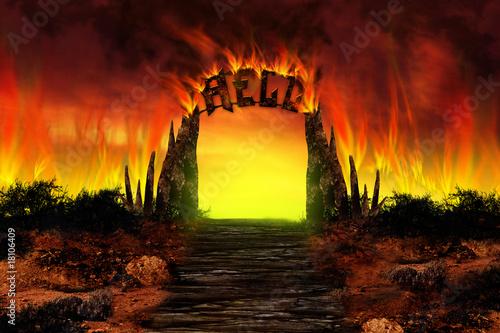 Fotografia The HELL on fire