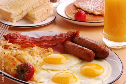 Breakfast Fototapeta