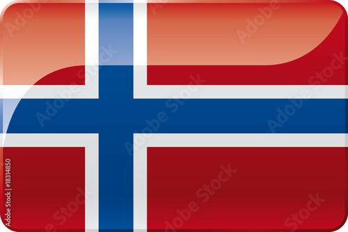 Valokuvatapetti Norwegen Flagge | Norway Flag