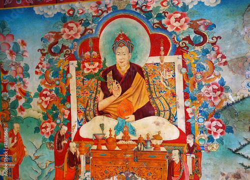 Fotografija tanka dalaï lama