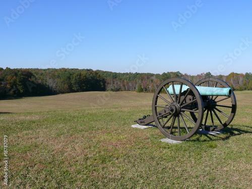 Cannon in Battle Field Tapéta, Fotótapéta