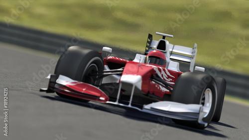 Fototapeta premium samochód wyścigowy Formuły 1