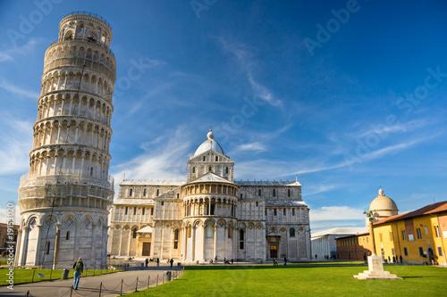 Carta da parati Pisa, Piazza dei miracoli.
