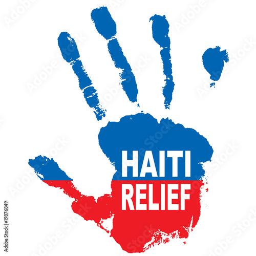 Obraz na plátně haiti hand