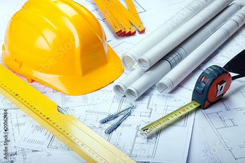 Plans de construction Poster Mural XXL