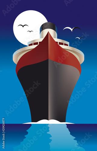 Fotografie, Obraz Cruise Liner