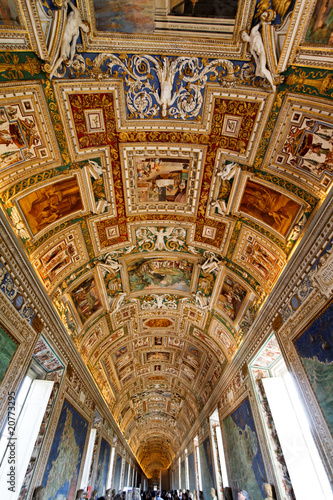 Fotografia Plafond chapelle sixtine