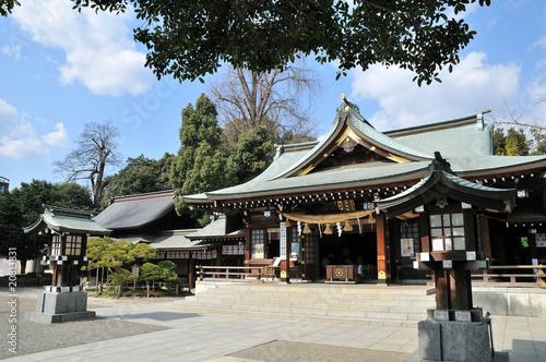 Obraz na plátně 出水神社